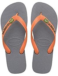 Havaianas Brasil Logo, Tongs Mixte Adulte