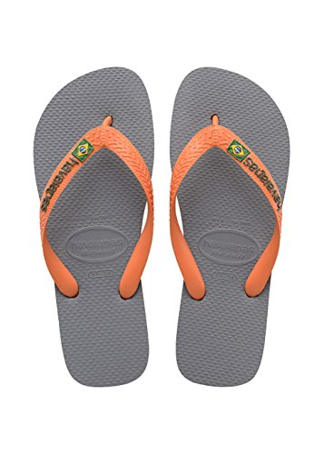 havaianas-brasil-logo-4110850-infradito-unisex-adulto-multicolore-steel-grey-neon-orange-9490-45-46-