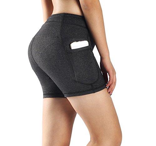 Munvot Radlerhose Kurze Leggings Yogahose Sporthose Shorts JB01-10XL
