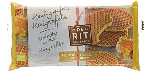 De Rit Vollkorn-Honigwaffeln, 12er Pack (12 x 175 g)