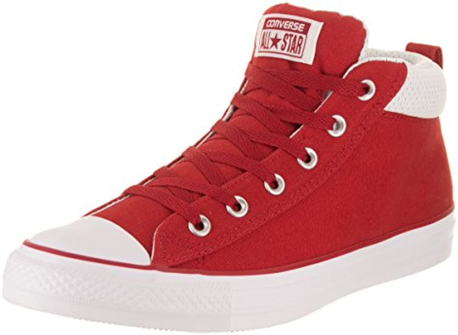 Converse Unisexe Chuck Taylor All 4.5 Star Street, Gym Rouge/Gym Rouge/Blanc, 4.5 All m USB07347W1XTParent 4c8825