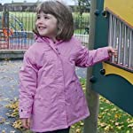 Girls Target Dry Lily Waterproof Coat - Sizes for Ages 1 to 8