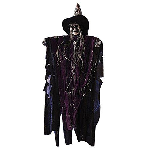 Hängenden Dekor Unheimlich Geist Ornament Halloween Zubehör mit Sound ()