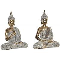 Figura de Buda Dorado para decoración. Diseño Zen - WABI Sabi- Hogar ...