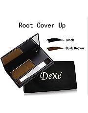 Dexe Root Touch Up Concealer for Men & Women for Medium to Dark Brown Hair (Dark Brown) - 6g