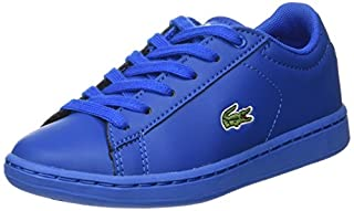 Lacoste Sport Unisex Kids\x{2019} Carnaby Evo 317 5 Bass Trainers, Blue (BLU 125), 13UK Child (B071DWKNKM) | Amazon price tracker / tracking, Amazon price history charts, Amazon price watches, Amazon price drop alerts