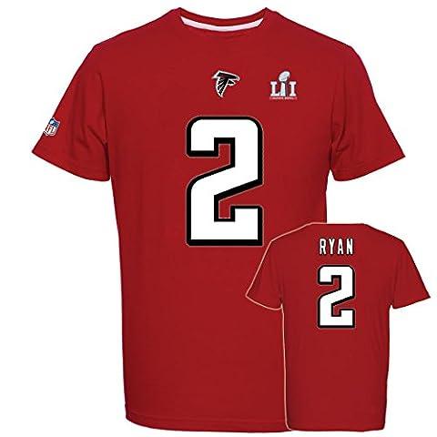 Majestic Super Bowl 51 Shirt - Atlanta Falcons 2 Matt Ryan - 3XL