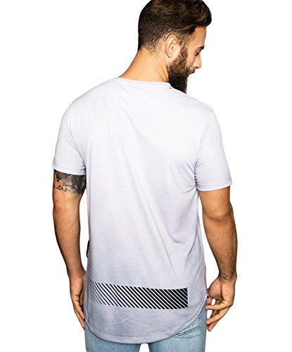 criminal damage CD SMOKEY T-Shirt - grigio