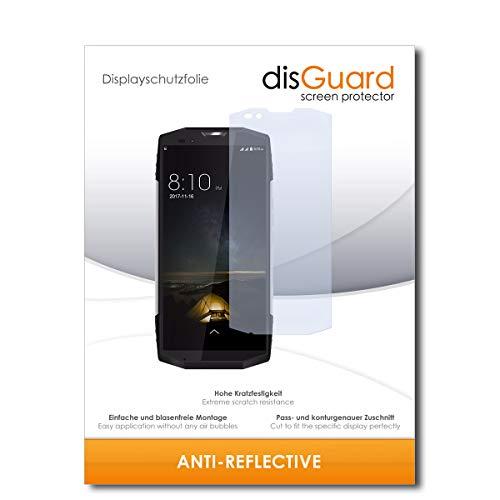 disGuard® Bildschirmschutzfolie [Anti-Reflex] kompatibel mit Blackview BV9000 Pro [2 Stück] Entspiegelnd, Matt, Antireflektierend, Extrem Kratzfest, Anti-Fingerabdruck - Panzerglas Folie, Schutzfolie