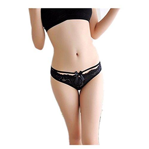 ❤️• •❤️ Panties Unterhosen LUCKYCAT Heißer Verkauf Mode Frauen Panties Unterhosen Lace Slips Höschen Tangas G String Dessous Unterwäsche Versuchung Reizvolle Panties Unterhosen (A) (Strumpfbänder Zurück Up Lace)