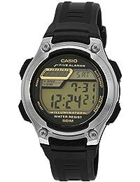 Casio Youth Digital Digital Black Dial Men's Watch - W-212H-9AVDF (I075)