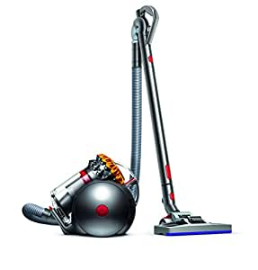 dyson big ball multifloor aspirateur sans sac garantie 5 ans jaune gris 4 accessoires amazon. Black Bedroom Furniture Sets. Home Design Ideas