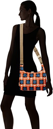 Orla Kiely Love Birds Print Mini Sling Bag, Sacs portés épaule Orange (Persimmon)