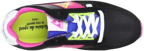 Le coq Sportif THIENNES LOW WOMEN 01041022.FUQ, Sneaker donna Nero (Schwarz (Black))
