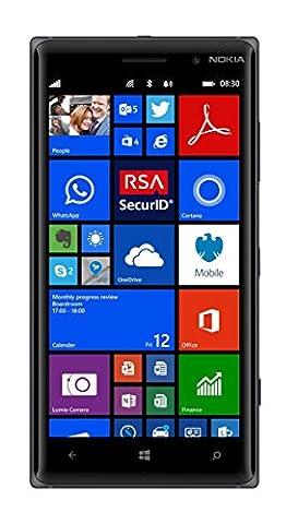 Nokia Lumia 83016Go 4g Noir–Smartphone Sim unique, Windows Phone, NanoSIM, Edge, GPRS, GSM, HSDPA, HSUPA, WCDMA, LTE)