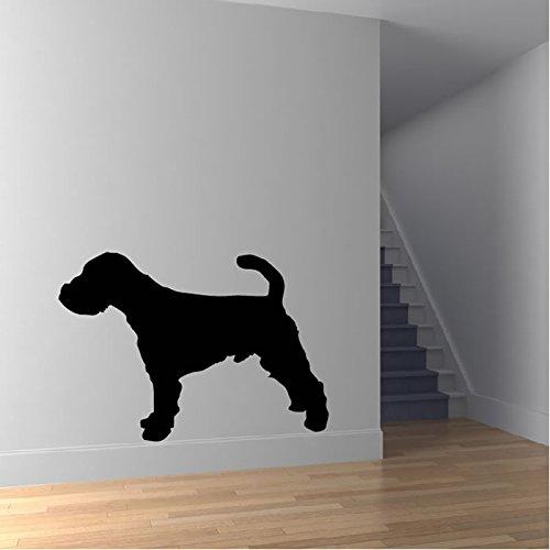 Welsh Terrier Silhouette Wall Sticker Dog Adesivo