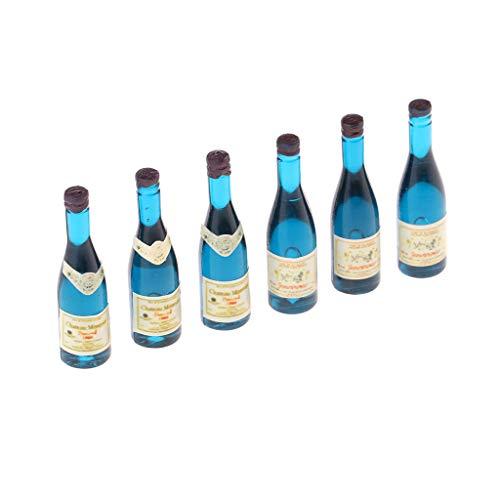 Descripción:       - 100% nuevo, artesanal y de alta calidad - Simulación de botellas en miniatura Juguetes - Diseño de estilo real con una excelente mano de obra juguetes de cocina en miniatura: botellas de casa de muñecas Botellas en miniat...