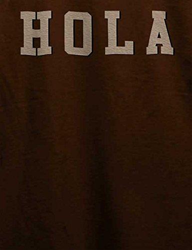 Hola T-Shirt Braun