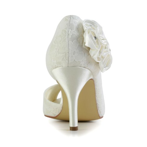 Jia Jia Wedding 839011 chaussures de mariée mariage Escarpins pour femme Beige