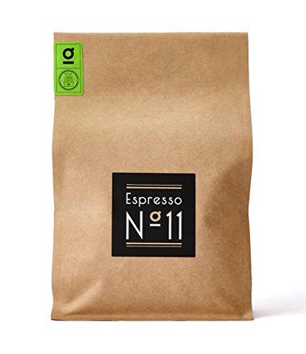 Espresso N°11 – Espresso Röstung – Feinster Arabica Robusta Blend – Kaffee-Bohnen für Vollautomaten und Siebträger – Espresso-Bohnen