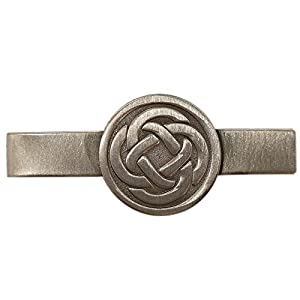 Fengteng Vintage Herren Dünn Krawattennadel Religöse Keltischer Knoten Krawattenklammer Krawattennadeln Business Hochzeit Tie Clip Schmuck und Geschenk