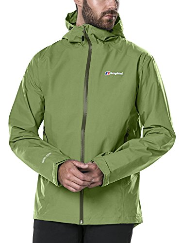 Berghaus Waterproof Ridgemaster Men's Outdoor Hooded Jacket - The Berghaus Men's Ridgemaster Waterproof Jacket is packed everything a hiker needs to enjoy the outdoors to the maximum. First of all, this one is made from Gore-Tex 2l fabric that not only keeps you fresh on a simple hike but also provides storm level protection. This is designed for the serous hiking in mind that never that extra level of protection.