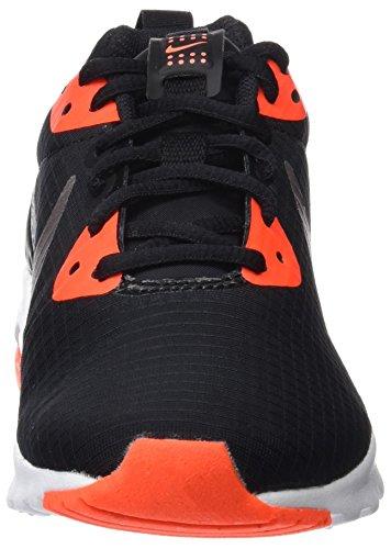 Nike 844895, Scarpe da Ginnastica Basse Donna Multicolore (Negro / Plata / Coral)