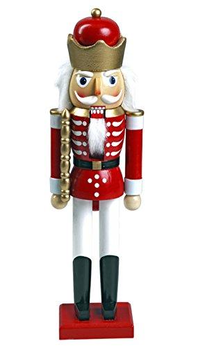 Nussknacker Nußknacker 'König' ca. 28 cm hoch aus Holz farbig Weihnachten Advent Geschenk...