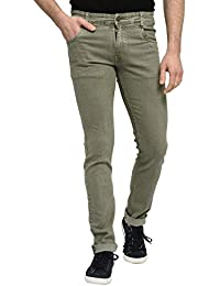 STUDIO NEXX Men's Regular Fit Stretch Jeans