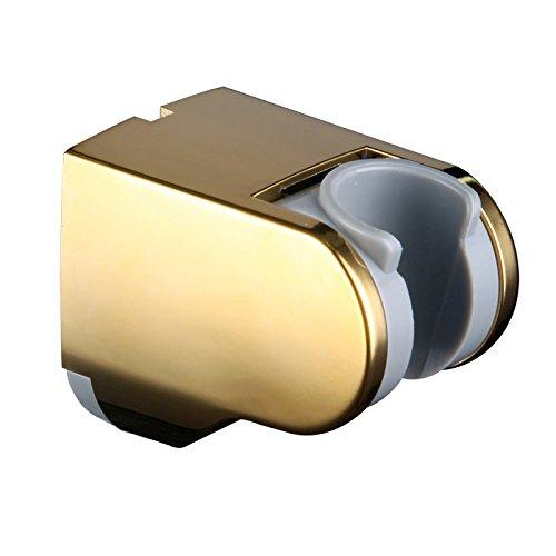 Skybath verstellbar Dusche Kopf Halterung Halter Wand montiert für Hand Duschkopf und Bidet Spritze Set Modern gold -