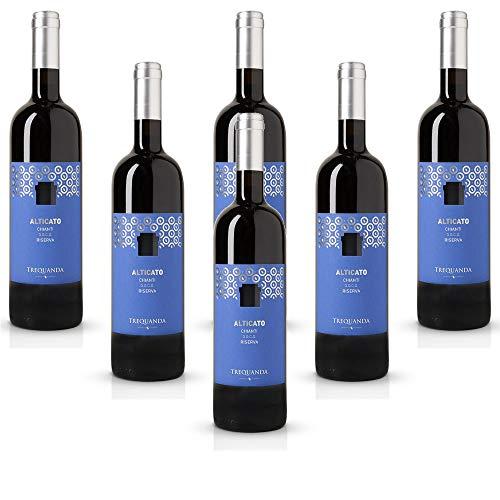 Alticato Chianti DOCG Riserva Trequanda Rossi Vino Rosso italiano (6 bottiglie 75 cl.)
