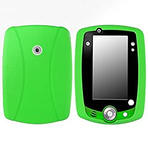 Housse Coque Etui Silicone Protection Case Pour Leapfrog LeapPad 2, Vert