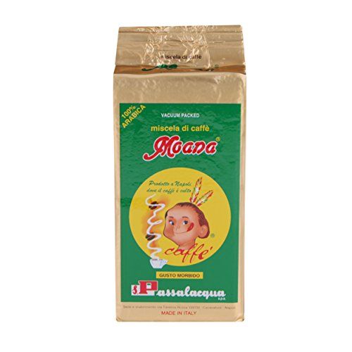 Passalacqua Moana, gemahlen 250 gr. Espressokaffee