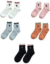 Socks ZY Calcetines femeninos. La hembra modela algodón. En calcetines del ms calcetines del piso calcetines otoño la humedad calcetines de mecha , f