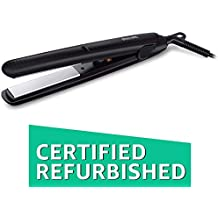(Renewed) Philips HP8303 Essential Selfie Straightener (Black)