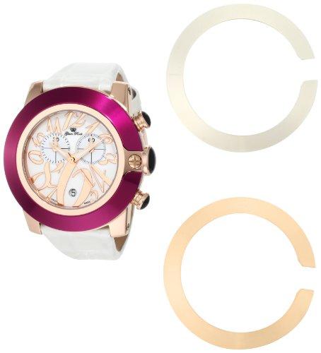Glam Rock GR32120 - Reloj de Pulsera Mujer, Color Blanco