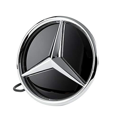 Motorfox LED Emblem Auto Logo Kühlergrill Emblem Beleuchtetes Stern
