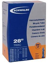 "SCHWALBE chambre à air valve dV nr.17 28-27: 17 ""40 mm"