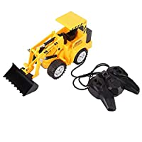 Zerodis. Wired Control Engineering Car Truck Toy, High Simulation Construction Vehicles with Light Children