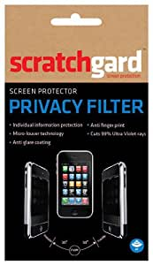 Scratchgard Privacy Filter Screen Protector for HTC T328d Desire VC