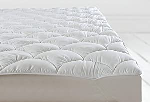Sweet Dreams MATTRESS TOPPER LUXURY ANTI ALLERGY FITTED ENHANCER NEW