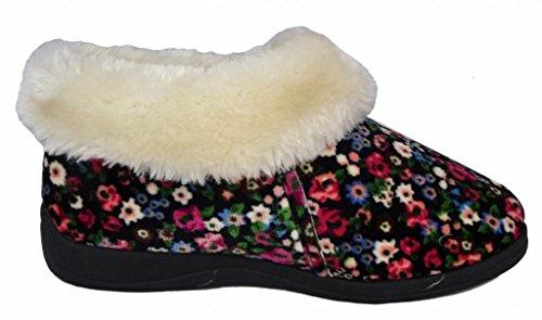 Dunlop , Damen Hausschuhe Blume