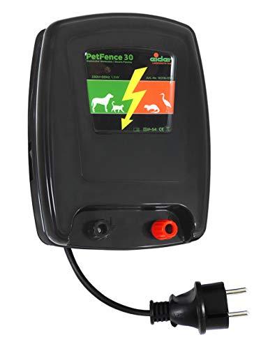 Weidezaungerät/Elektrozaungerät Elder PetFence 30 für den Hundezaun/Pferdepaddock - Extrem leise und effizient - Elektrischer Zaun Pferd
