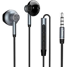 Benks E01 - Auriculares estéreo con micrófono para iPhone Xiaomi (3,5 mm,