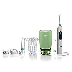 JETPIK 50 Home 2 en 1 Soie Dentaire Électrique avec Hydropulseur pour Maison