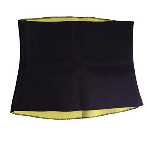 Luwu-Store Sport Taillen Trimmer Schweiß Gürtel für Männer und Frauen-S