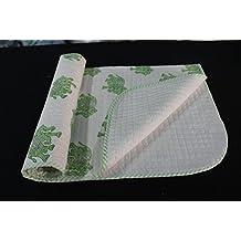 HANDICRAFTOFPINKCITY Baby's Cotton Hand Block Print Quilt and Nursery Wrap (White)