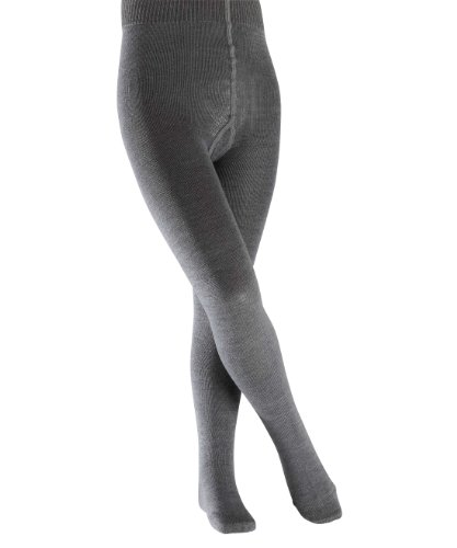 falke kinderstrumpfhosen FALKE Kinder Strumpfhosen / Leggings Comfort Wool - 1 Paar, Gr. 134-146, grau, wärmende Schurwolle Baumwolle, Strickstrumpfhose