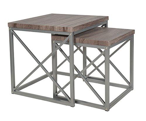 ts-ideen Set di due Tavolini Design Soggiorno Tavolo per il caffè ...
