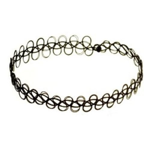 black-vintage-stretch-tattoo-henna-choker-hippy-necklace-only